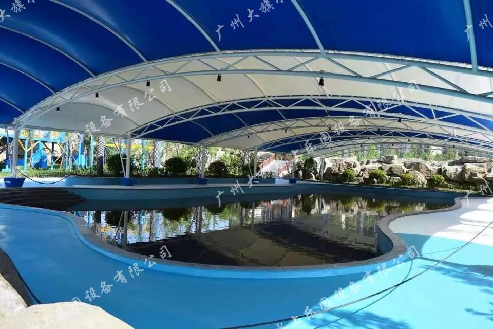 泳池景观包装
